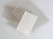 Поликарбонат 20мм, цвят прозрачен и бял